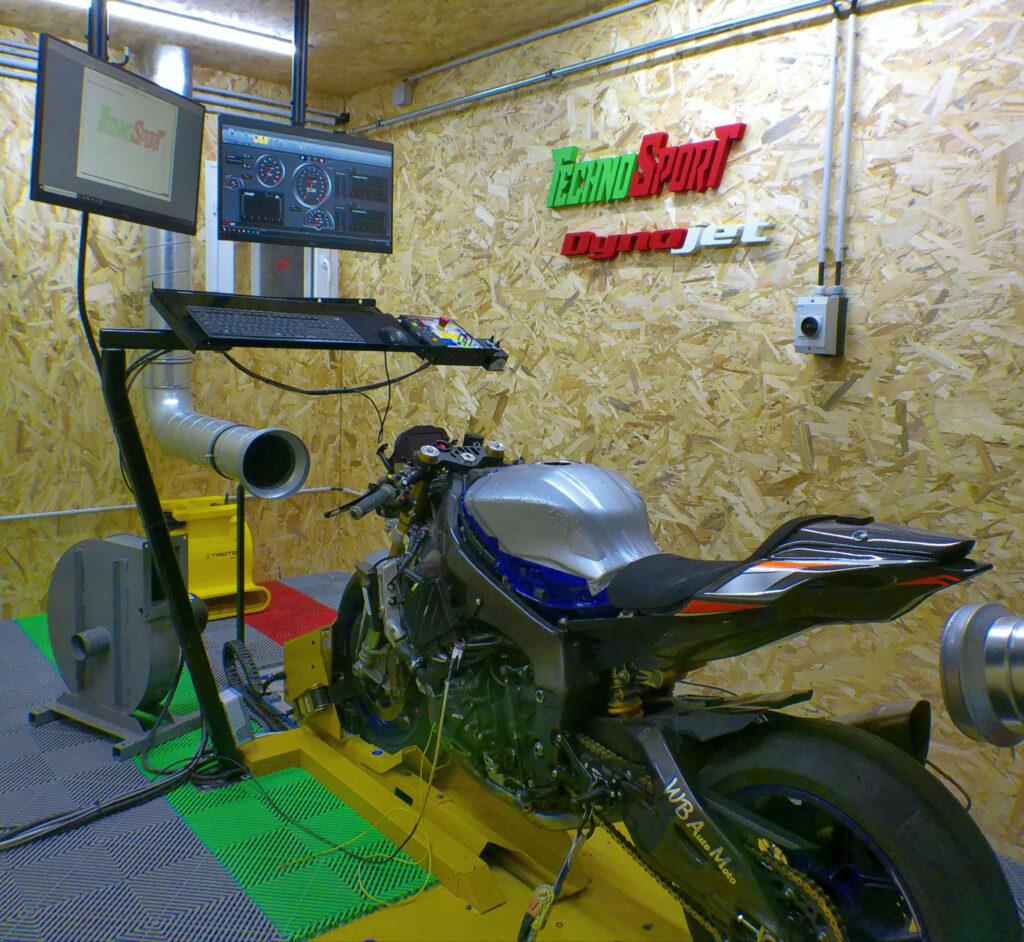 rodage moteur moto piste