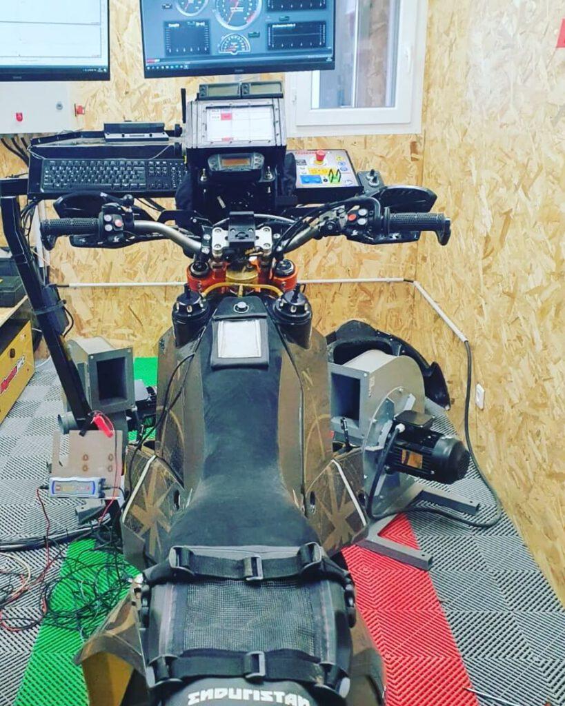 Reprogrammation KTM RALLY 690 stage 1 banc puissance alsace dynojet