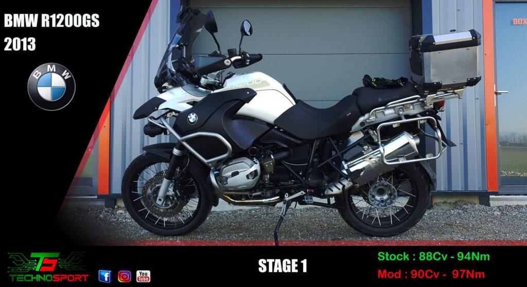 Reprogrammation BMW R1200GS stage 1