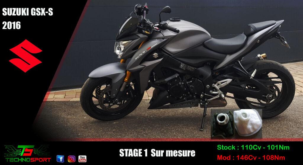 Reprogrammation Suzuki GSX-S 1000