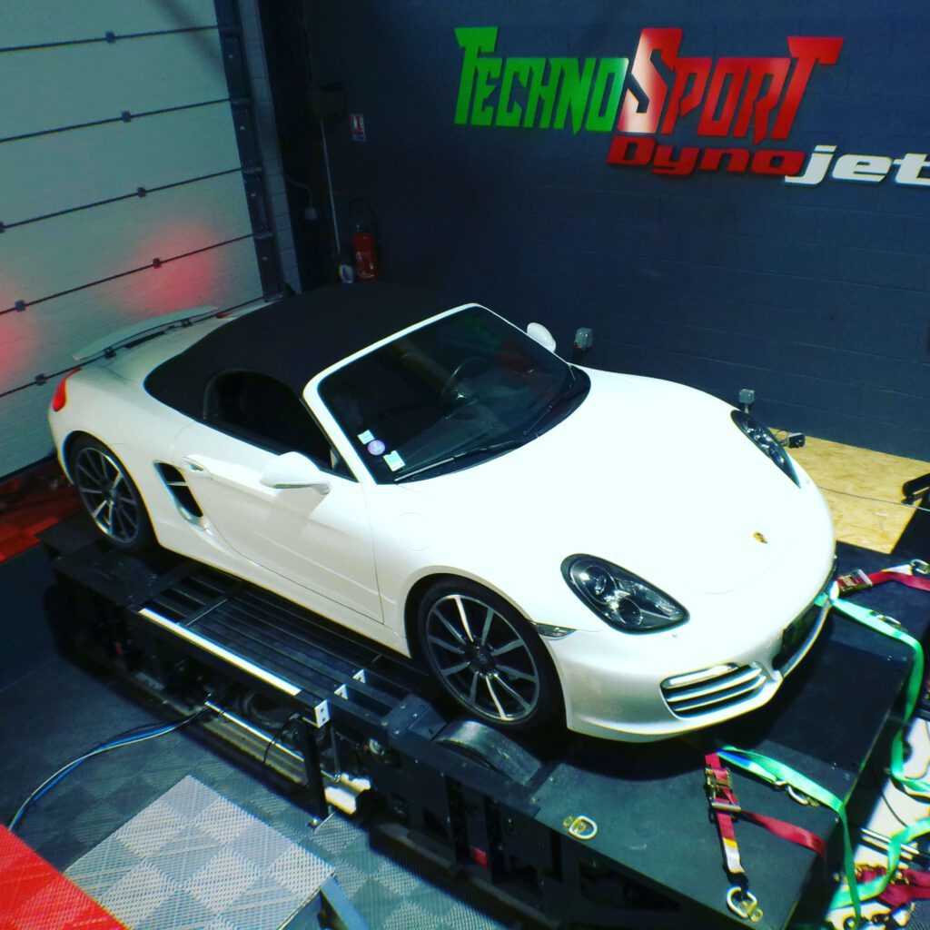 Reprogrammation moteur Porsche Boxster stage 1