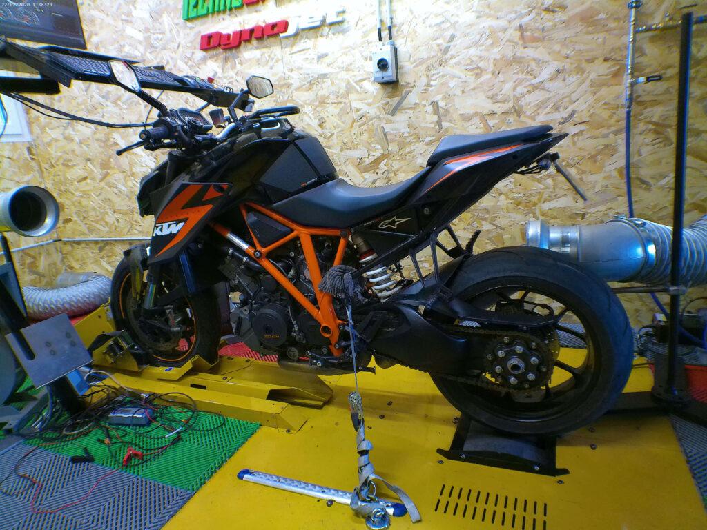 Reprogrammation KTM SUPERDUKE 1290