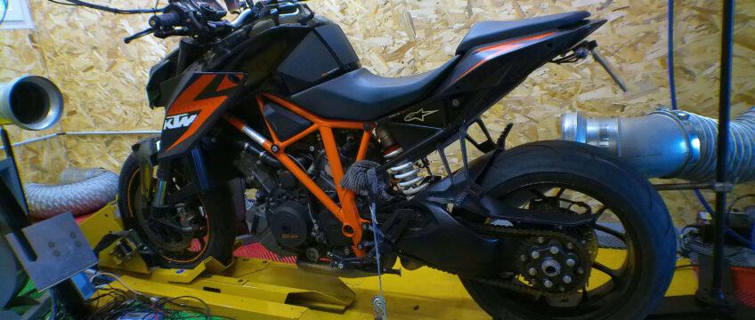 Reprogrammation moteur KTM