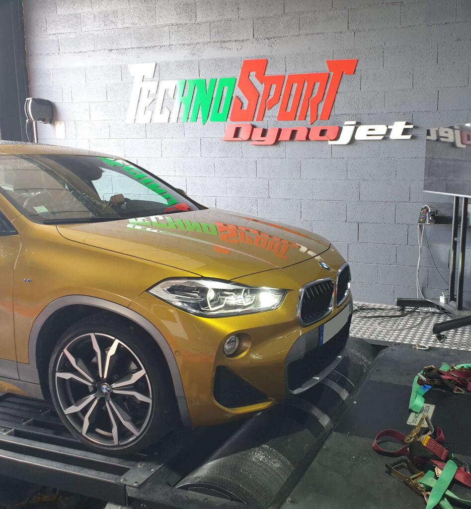 Reprogrammation moteur stage 1 BMW X2 2L 190CV