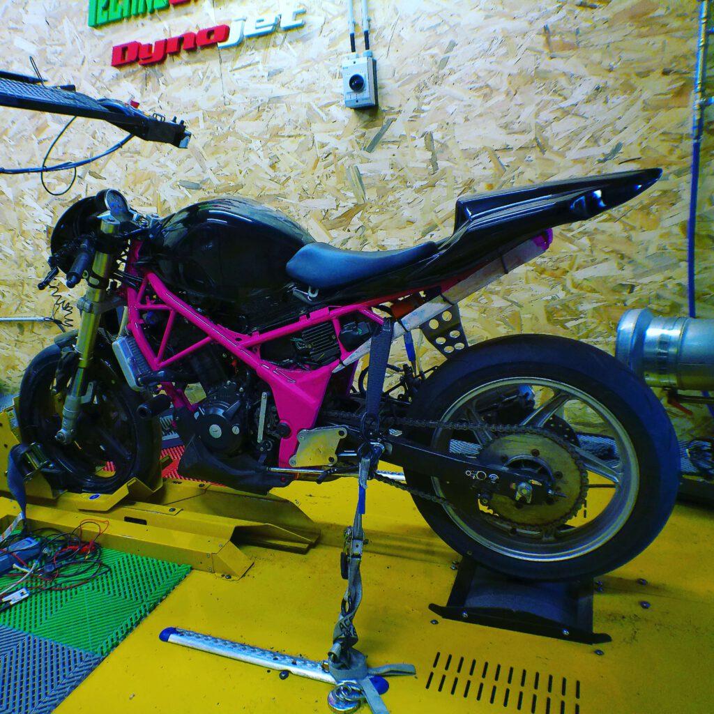reprogrammation moteur honda CBR 250