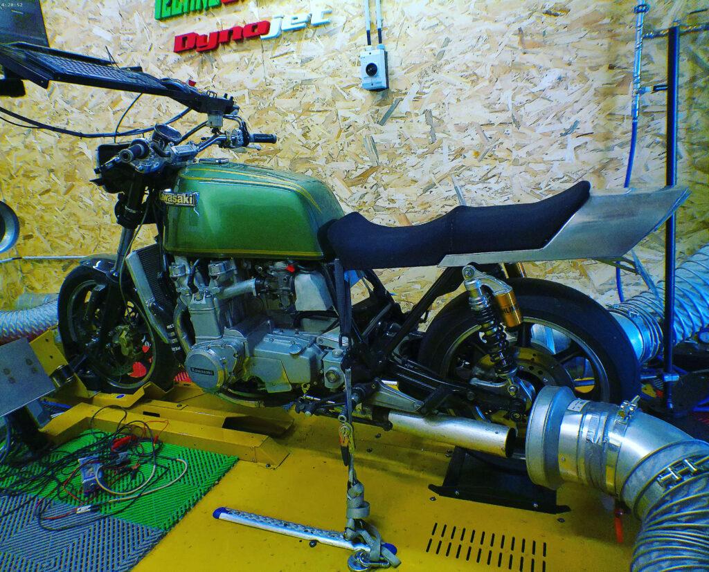 Kawasaki Z1300 préparation