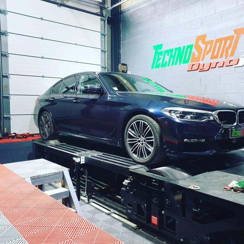 Reprogrammation banc de puissance BMW 530D