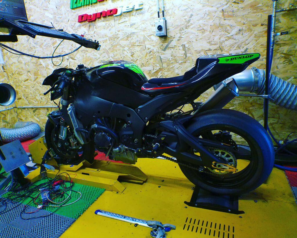 Rodage moteur ZX10R kawasaki