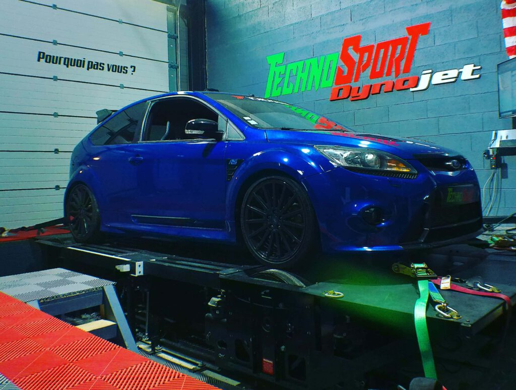 reprogrammation moteur ford focus RS