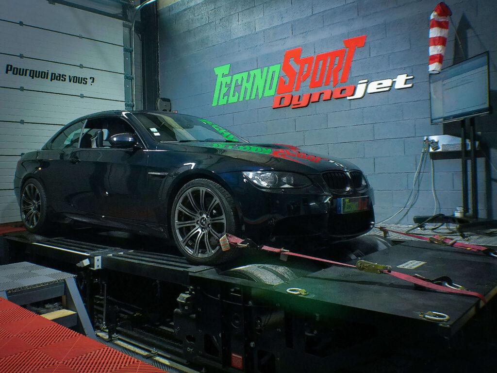 Reprogrammation moteur BMW M3 V8 420CV Vmax